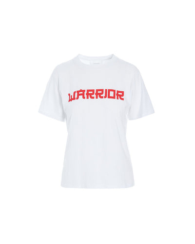 TABBY WARRIOR T-SHIRT - WHITE