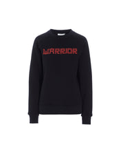THALIA WARRIOR SWEATSHIRT - BLACK