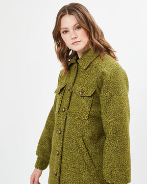 BLISS OUTERWEAR JACKET - LIME PUNCH