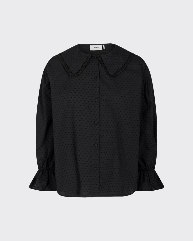 CARRO LS SHIRT - BLACK