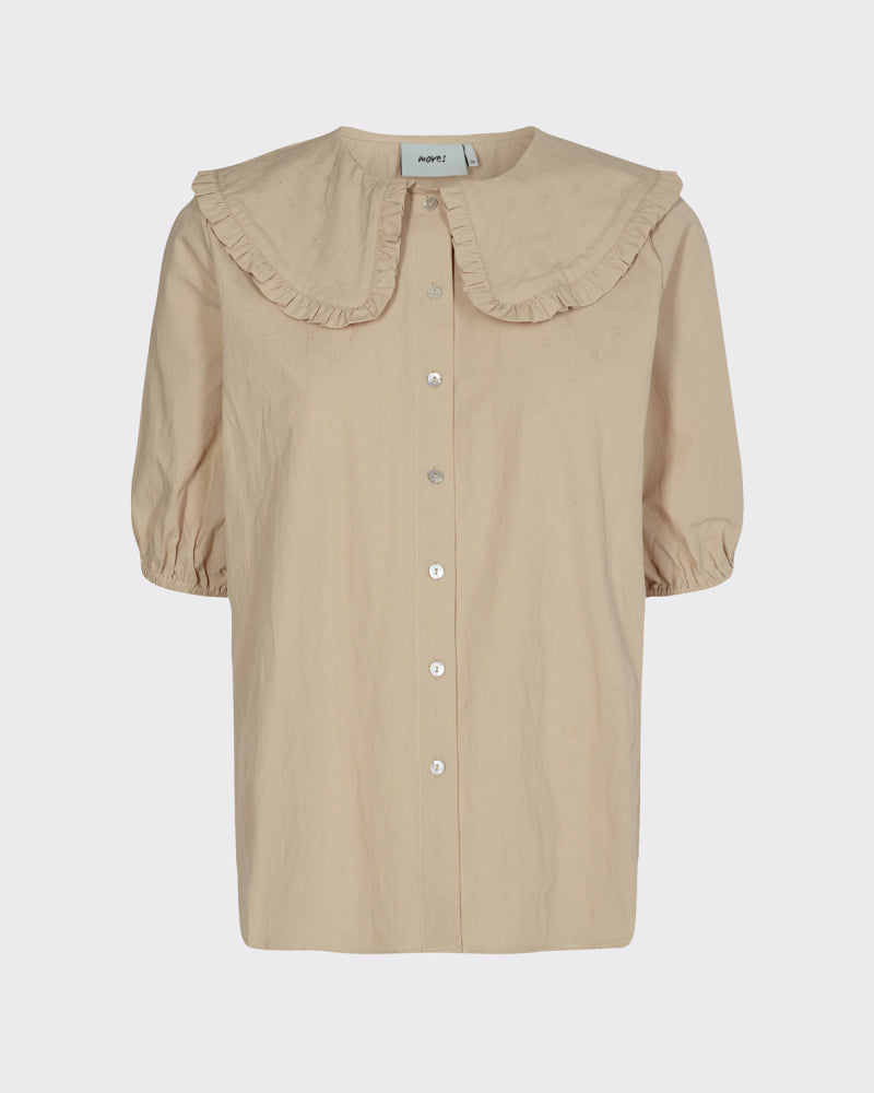 CARROLA SHORT SLEEVED SHIRT - COCOON