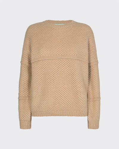FINNIA JUMPER KNIT - WARM SAND