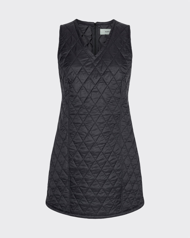 PILLEA SHORT DRESS - BLACK