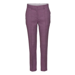 NESSO WOOL PANTS - PURPLE