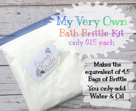 My Very Own Bath Brittle Kit
