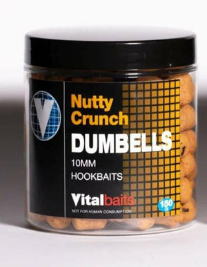 Vital Baits Nutty Crunch Dumbells - 10mm