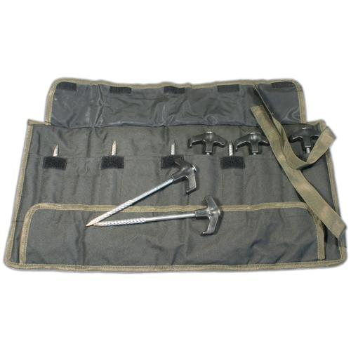 GARDNER BIVVY PEGS (10) WITH POUCH