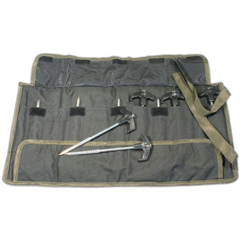Image of GARDNER BIVVY PEGS (10) WITH POUCH