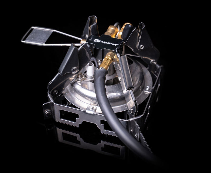 RidgeMonkey Quad Connect Stove Pro Mini Full Kit