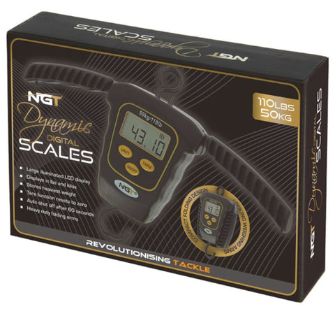 Image of NGT Dynamic Digital Scales - Folding side handles, 110lb / 50kg Capacity