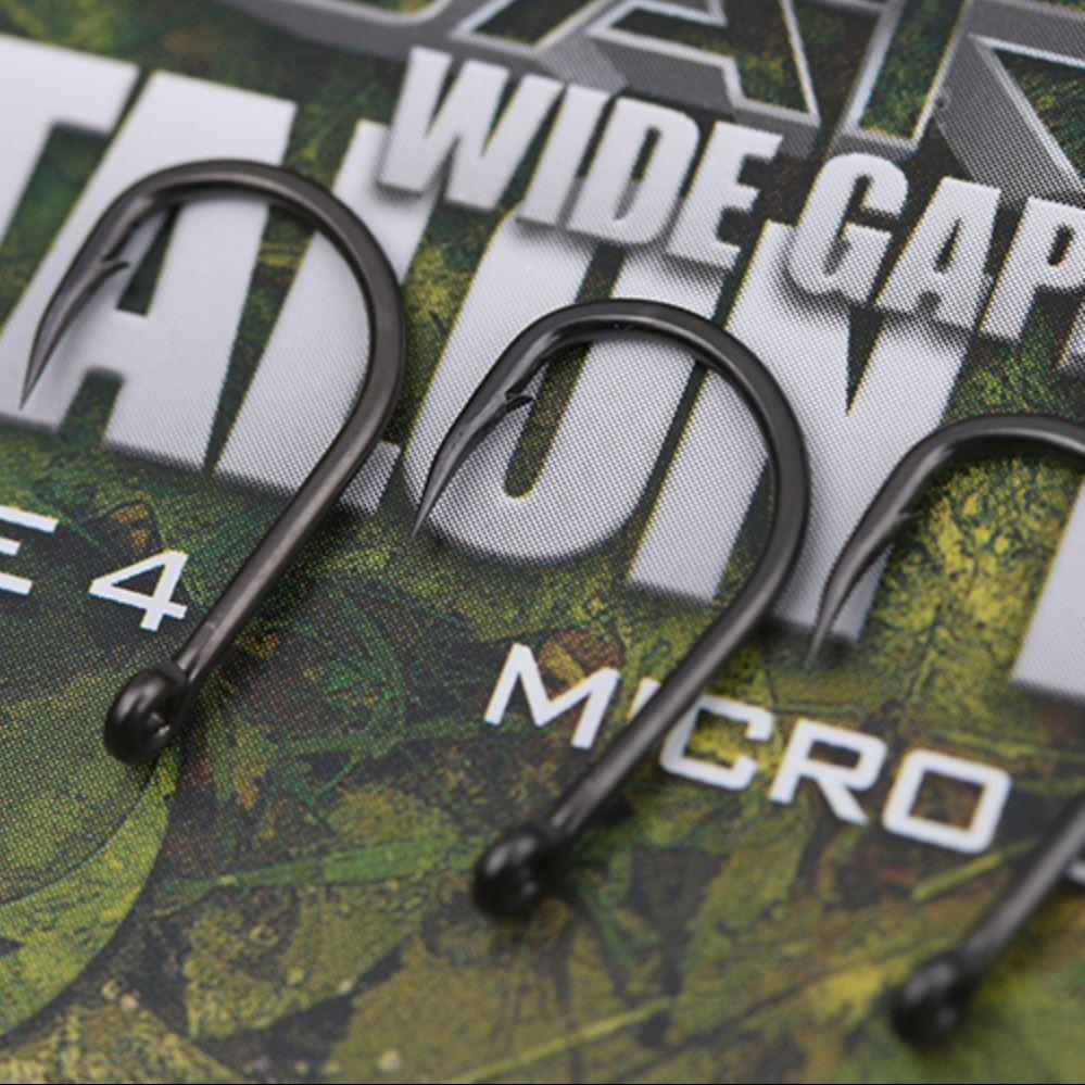 GARDNER COVERT DARK WIDE GAPE TALON TIP HOOKS BARBLESS SIZE 6
