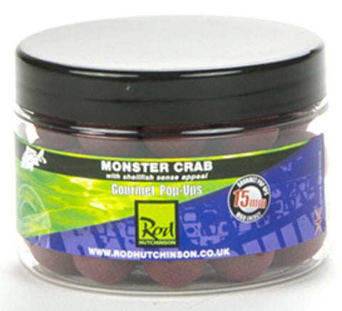 Rod Hutchinson Monster Crab Gourmet Pop ups 15mm