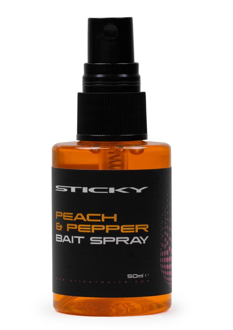 Sticky Peach & Pepper Bait Spray