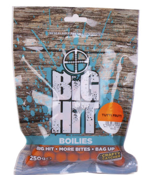 Crafty Catcher Big Hit Boilies 10mm Tutti Frutti