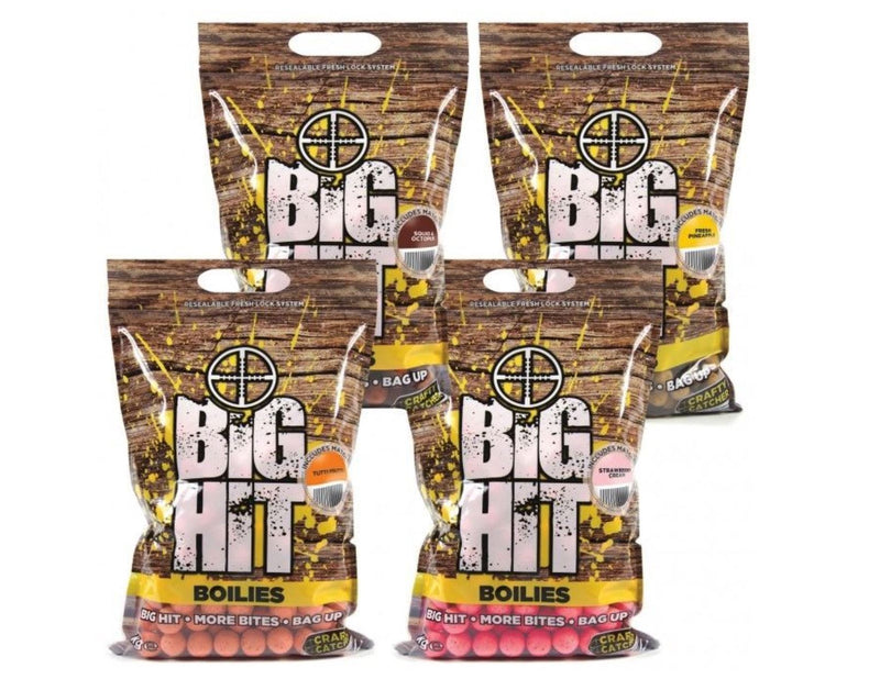 Crafty Catcher Big Hit Boilies 15mm 2kg
