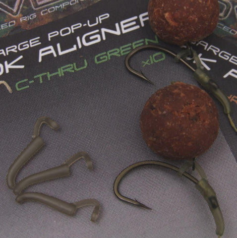 GARDNER COVERT POP-UP HOOK ALIGNER LARGE C-THRU BROWN