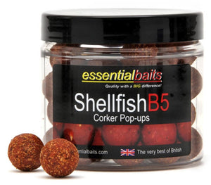 Essential Shellfish B5 Pop Ups 16mm