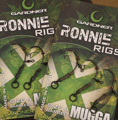 GARDNER RONNIE RIG BARBED SIZE 4