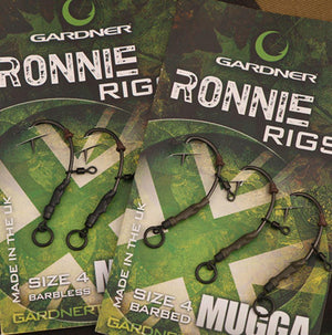 GARDNER RONNIE RIG BARBED SIZE 6