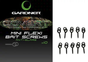 GARDNER COVERT MINI  FLEXI BAIT SCREWS
