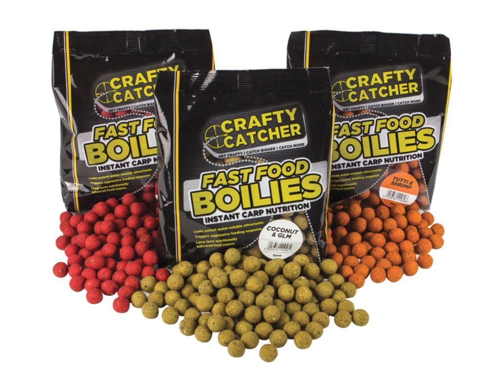 Crafty Catcher Fast Food Boilies 500g
