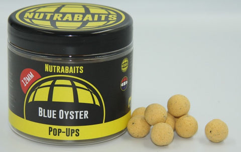 Nutrabaits Blue Oyster Pop Ups 15mm