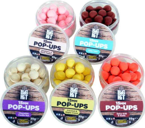 Crafty Catcher Big Hit 15mm Pop Ups
