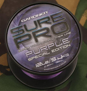 GARDNER SURE PRO SPECIAL EDITION 15lb (6.8kg) PURPLE