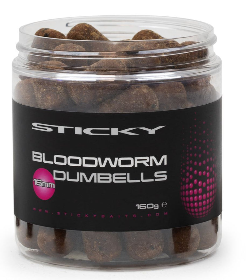 Sticky Bloodworm Dumbells