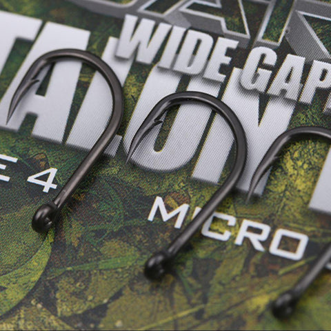 Image of GARDNER COVERT DARK WIDE GAPE TALON TIP HOOKS BARBED SIZE 6