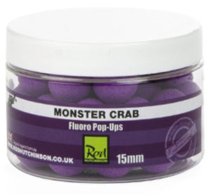 Rod Hutchinson Monster Crab Fluoro Pop Ups 15mm