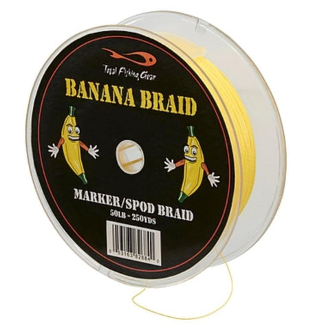 TF GEAR SPOD & MARKER BANANA BRAID 30lb