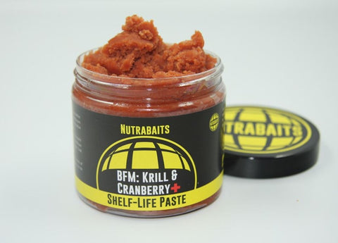 Nutrabaits BFM; Krill & Cranberry Shelf Life Paste