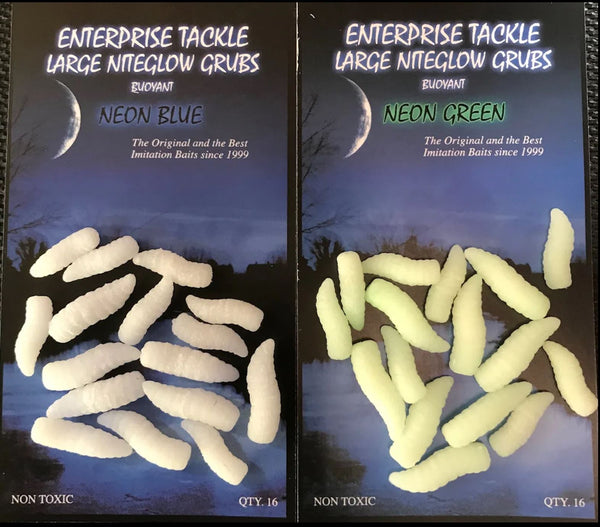 Enterprise Large Nite Glow Grubs