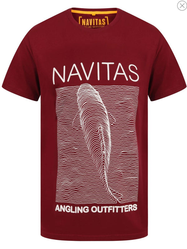 Navitas Joy Tee Burgundy