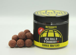Nutrabaits BFM; Krill & Cranberry Corkie Wafters