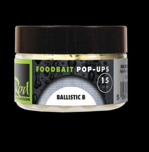 Rod Hutchinson Ballistic B Foodbait Pop Ups 15mm