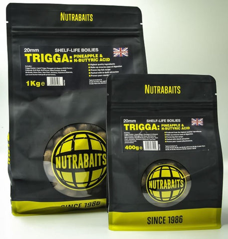 Nutrabaits Trigga Pineapple & N-Butyric Acid Shelf Life Boilies