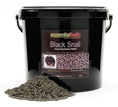 Essential Black Snail Pellets