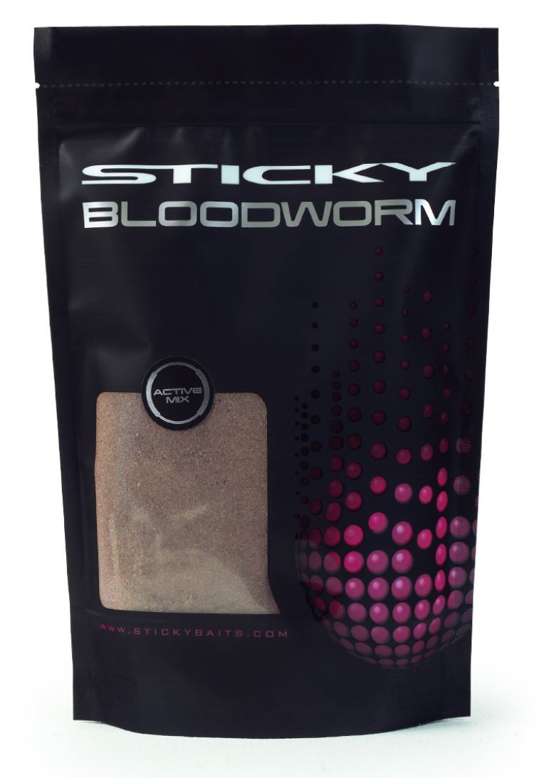 Sticky Bloodworm Active Mix