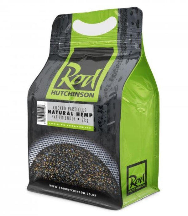 Rod Hutchinson Natural Hemp Cooked Particles 2kg