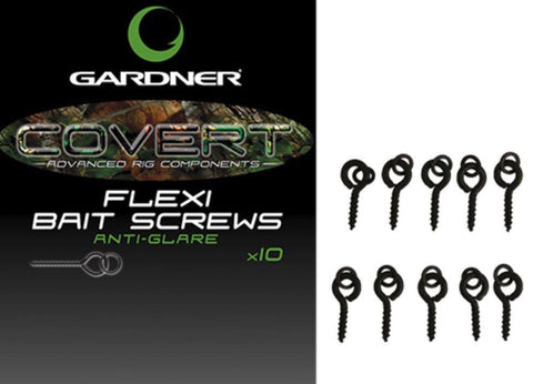 Image of GARDNER COVERT FLEXI BAIT SCREWS