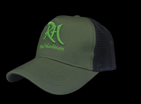Rod Hutchinson Green with Mesh Back Cap