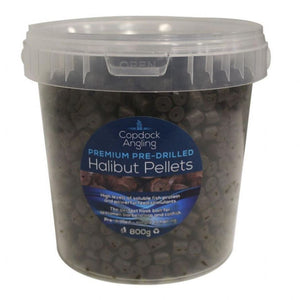 Copdock Angling  Pre Drilled Halibut Pellets