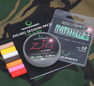 GARDNER ZIG RIG SESSION PACK - 12lb (4.5kg)