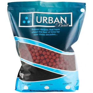 Urban Bait Shelf Life Boilies - Red Spicy Fish 1kg