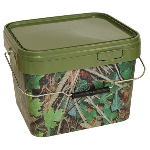 10 Litre Square Camo Bucket