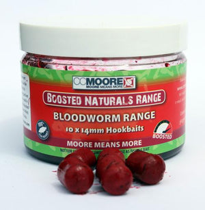 Boosted Bloodworm Hookbaits