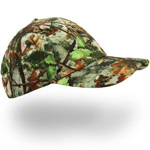 Camoflague Cap for carp fishing