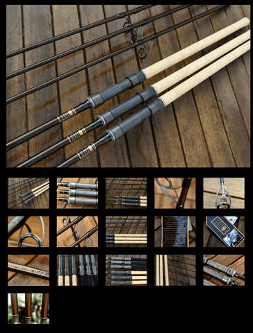 Edwards Customs, EMPERA S-B CLASSIC 10FT - 3lb tc carp rod. (FULL CORK / FUJI SEAT or EVA / ALPSBUILD)